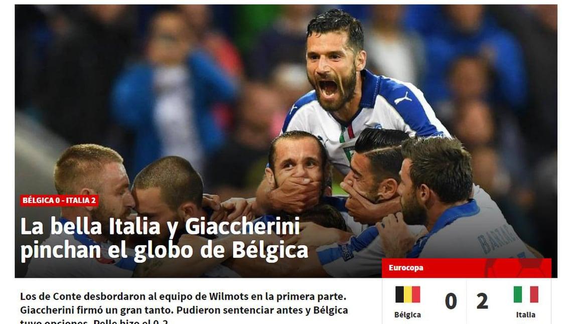 Euro 2016, la stampa estera celebra «La bella Italia»