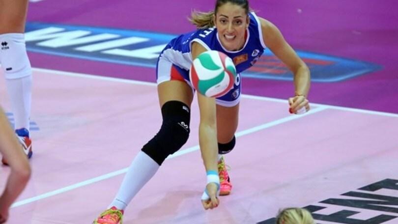 Volley: A1 Femminile,  Lucia Crisanti firma per Scandicci