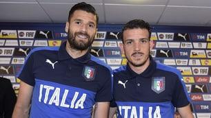 Euro 2016 Italia, Florenzi e Candreva: quanti sorrisi in conferenza