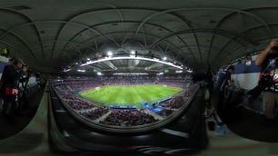 Euro 2016, a Lille piove a dirotto: il tetto dello stadio si chiude per Russia-Slovacchia