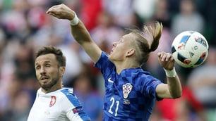Croazia, la mano di Vida e il pareggio della Repubblica Ceca