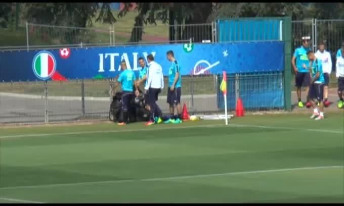 Euro2016: l'Italia torna al lavoro