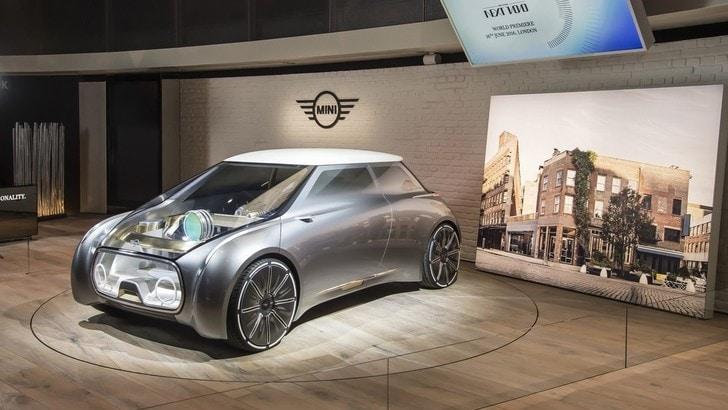 Mini Vision Next 100, la compatta del futuro