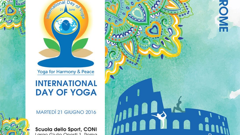 Domani a Roma l'Internation day of Yoga