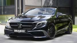 Brabus 850 Cabrio, la 4 posti scoperta più veloce del mondo