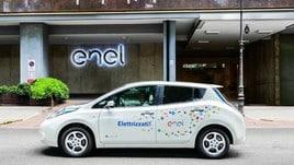 Nissan Leaf Enel Edition, una partnership elettrica