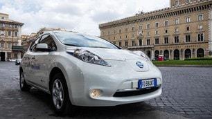 Nissan Leaf Enel Edition: foto