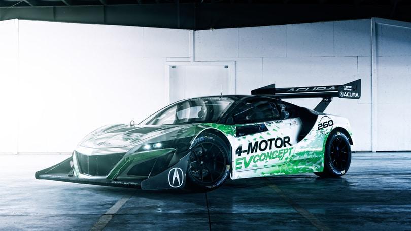 Acura NSX EV Concept, il mostro per la Pikes Peak