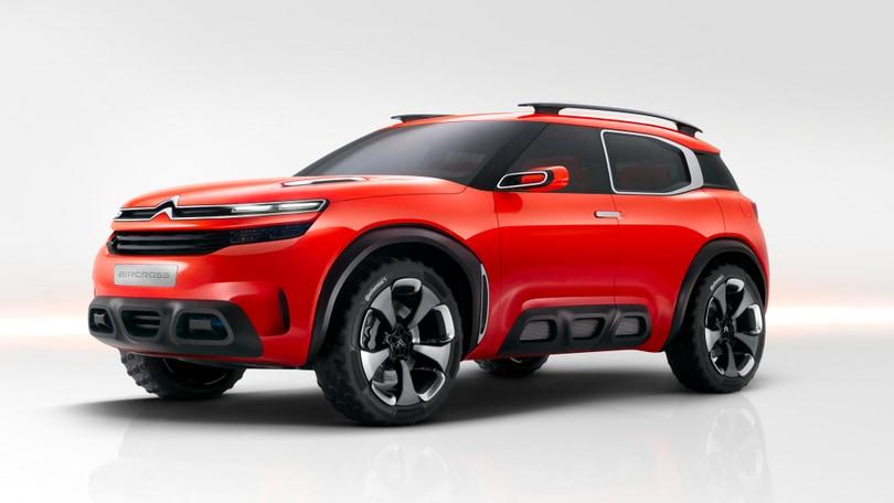 Citroen, è in arrivo una nuova SUV compatta