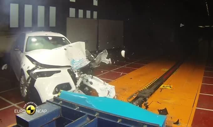 Alfa Giulia al top nei crash test EuroNCAP