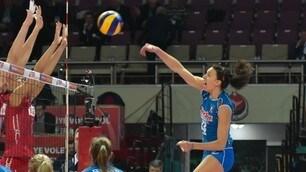 Volley: World Grand Prix, prima giornata di lavoro ad Ankara per le azzurre