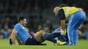 Rugby: l'azzurro Masi costretto al ritiro dopo un infortunio