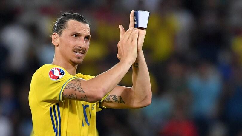 Euro 2016, il saluto di Ibrahimovic: «Io sono la Svezia»