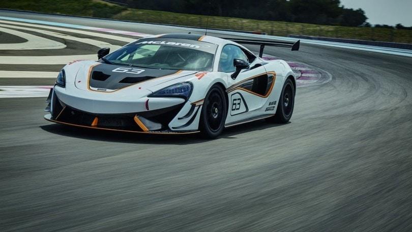 McLaren 570S Sprint, la pista è casa sua