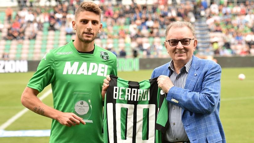 Calciomercato, Squinzi: «Nessun offerta dall'Inter. Berardi andrà alla Juventus»