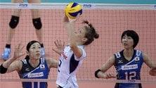 Volley: World Grand Prix, domani le azzurre in campo contro il Brasile