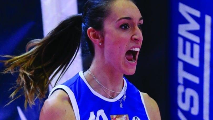 Volley: A1 femminile, a Bergamo arriva Laura Partenio