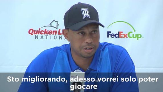 """Woods: """"Vorrei giocare"""""""