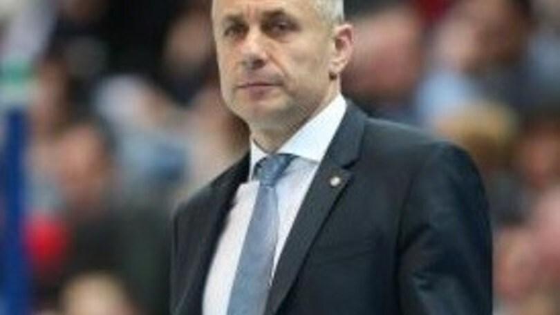 Volley: Superlega, Radostin Stoytchev lascia Trento