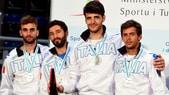 Europei Scherma, Italia d'argento nel fioretto maschile