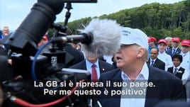 """Trump anti-Ue: """"La GB si è ripresa il paese"""""""