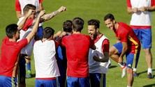 Euro 2016 Spagna, test antidoping per 10 calciatori