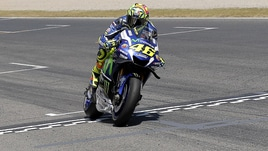 MotoGp, Assen: Rossi in prima fila, vittoria a 2,25