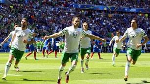 Euro 2016, Francia-Irlanda: le emozioni del match