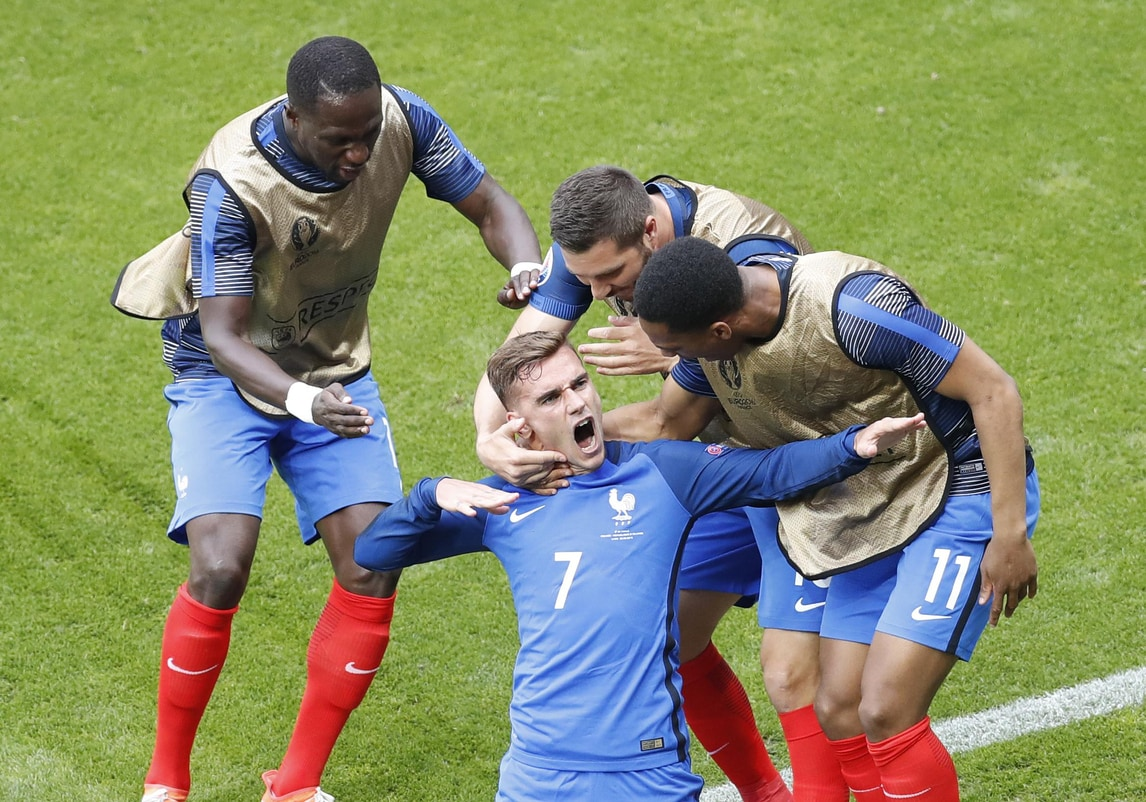 Euro 2016, Francia-Irlanda 2-1: che rimonta conGriezmann!