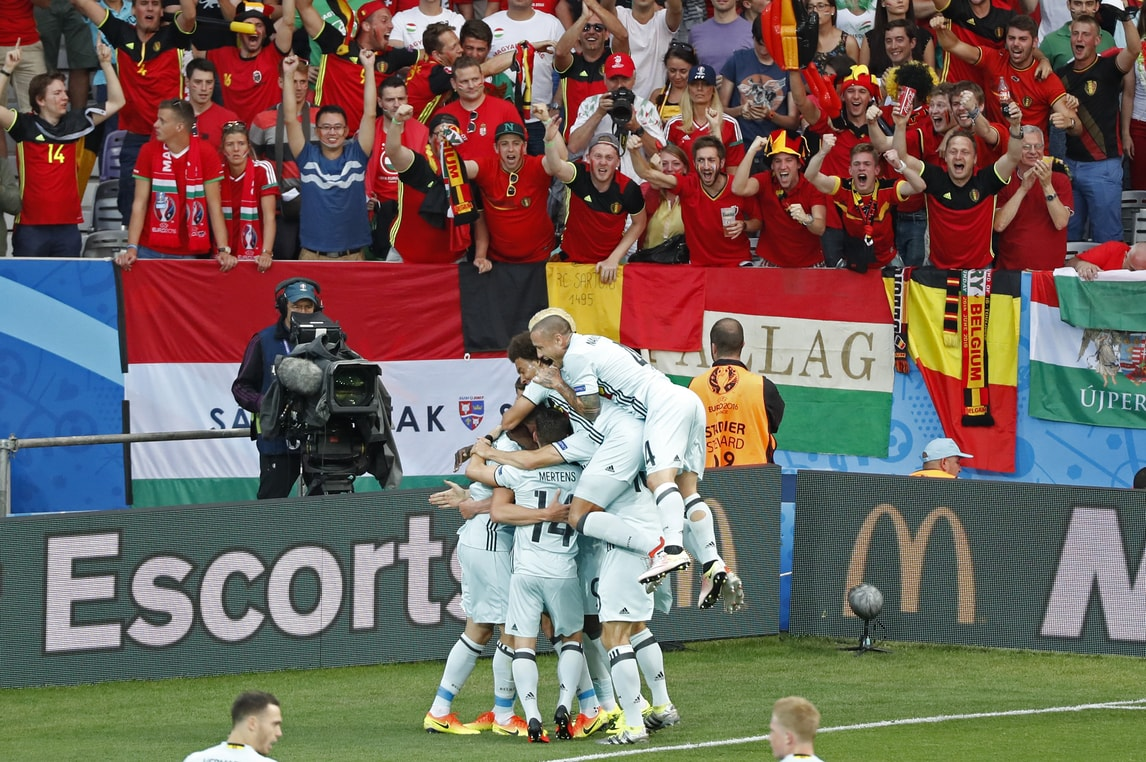 Euro 2016, Ungheria-Belgio 0-4: poker esagerato dei Diavoli Rossi!