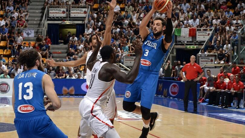 Italia, primo ko, e si ferma Belinelli