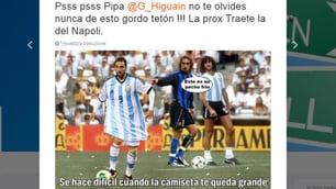 Argentina, Higuain bersaglio dei social per il ko con il Cile