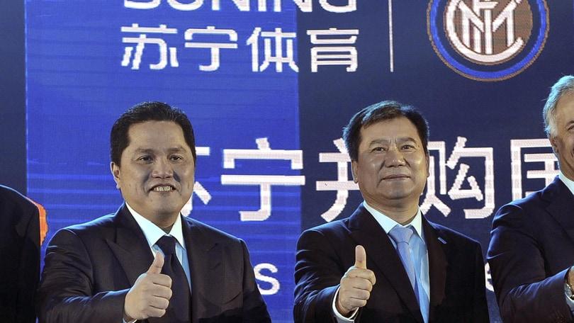 Inter,Jindong Zhang e Thohir incontrano Beretta
