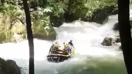 Rafting, tra le rapide sotto la cascata delle Marmore
