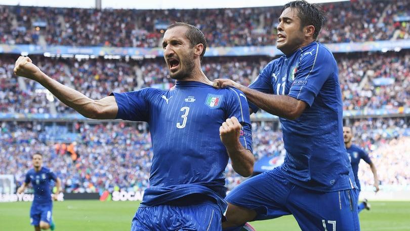 Euro 2016, Italia-Spagna 2-0: Chiellini e Pellè, sfidiamo la Germania