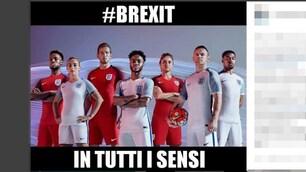 Ancora Brexit, l'Inghilterra saluta Euro 2016 e il web se la ride