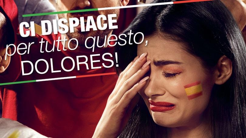 """Fiat ironica sulla Spagna...""""Ci dispiace per il Dolores"""""""