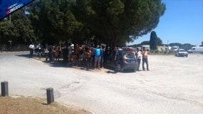 Montpellier, si attende l'uscita degli Azzurri...