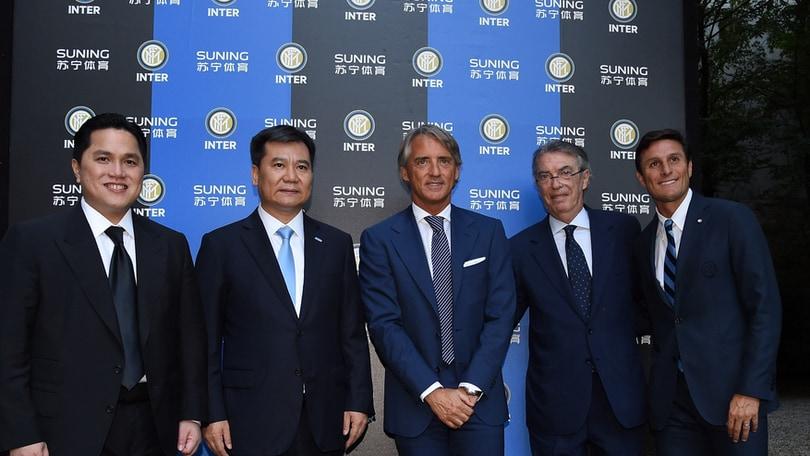 Inter, Moratti: «Con Mancini divorzio già scritto»