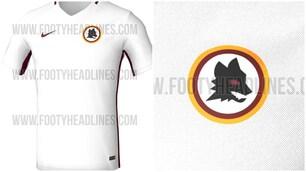 Roma, torna il lupetto sulla seconda maglia?