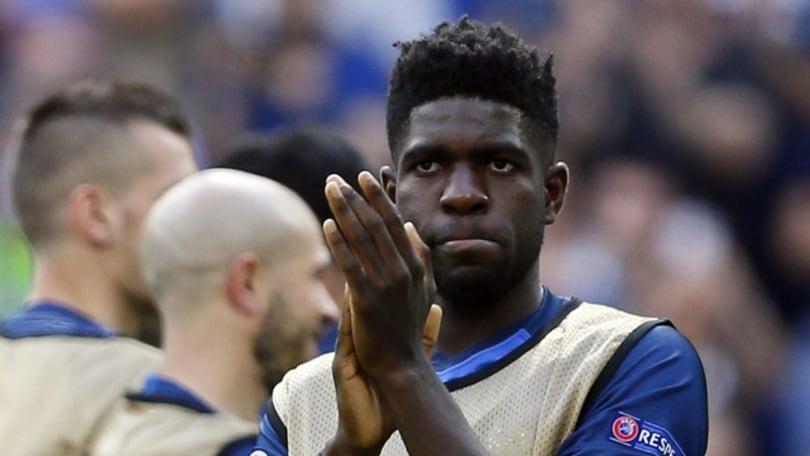 Calciomercato, L'Equipe annuncia Umtiti al Barcellona: «30 milioni al Lione»