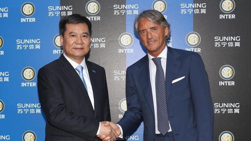 Calciomercato Inter, Mancini: «Zhang ha ottime intenzioni». Il n° 1 Suning: «Leader in Italia e in Europa»