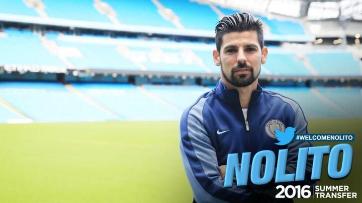 Manchester City, preso Nolito dal Celta: è ufficiale