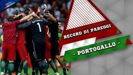 Portogallo, semifinale con record di pareggi
