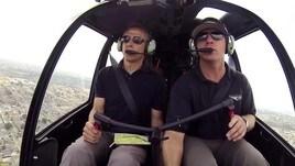Che ne dite di un giro in elicottero con Jurgen Klinsmann?