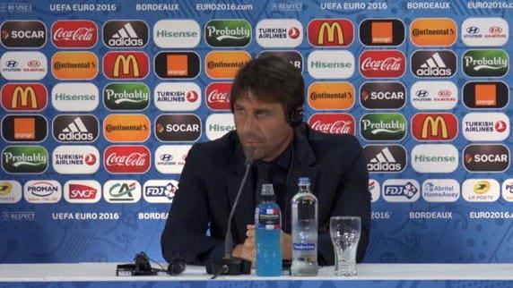 """Conte: """"De Rossi non al meglio, bisogna essere al 120%"""""""