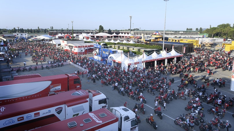 World Ducati Week: la festa è iniziata