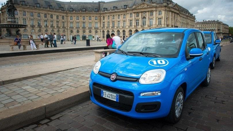 La Fiat Pandazzurri arriva alNouveau Stade di Bordeaux