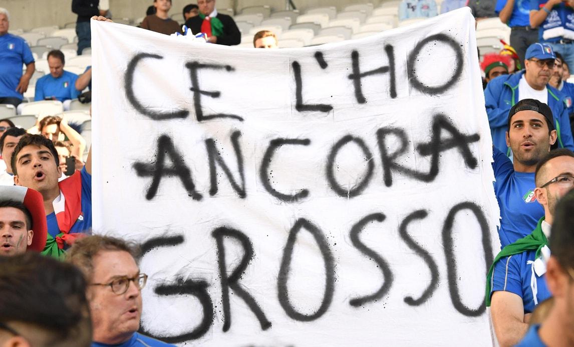 Germania-Italia, carica azzurra: «Ce l'ho ancora Grosso»