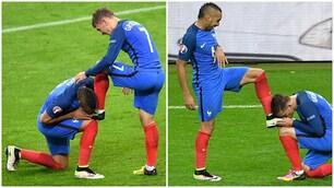 Francia-Islanda, per Payet e Griezmann scambio di baci sugli scarpini
